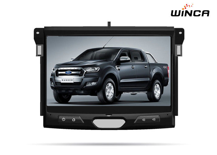 Big Screen Ford GPS Navigation Ford Ranger Sat Nav With Wince Phonelink