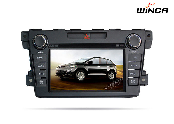Audio DVD Mazda GPS Navigation Dashboard Placement Mazda Cx 7 Dvd Player