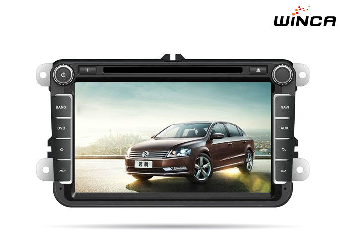 Capacitive Screen Volkswagen GPS Navigation With GPS 3g WIFI Bluetooth